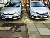 "PCO CAR HIRE RENT ONLY £190 P/W with INSURANCE 2012 ""62 REG"" ***UBER READY*** HONDA INSIGHT HYBRID"