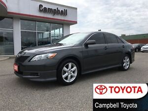 2007 Toyota Camry SE HEATED BLACK LEATHER MOON ROOF LOCAL TRADE
