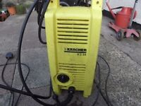 For sale Karcher pressure washer. Without lance.