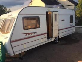 Coachman Amara 4 Berth 2004 With Fixed Bed & Awning