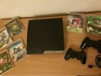 PS3, 2controller, 6games