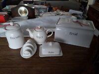 white china breakfast set