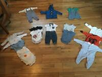 Bundle 4 0-3 month first size bundle boys m&s John Lewis etc