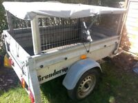 Brenderup car trailer