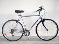 "(2760) 700c 20"" RALEIGH HYBRID COMMUTER BIKE BICYCLE CRO-MO FRAME Height: 178-183 cm (5'10""-6'0"")"