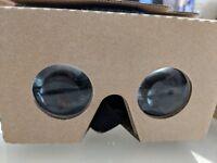 VR glasses -cardboard