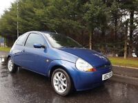 LOW MILEAGE JUNE 2008 FORD KA ZETEC CLIMATE 1299CC PETROL LOOKS AND DRIVES AS NEW **LOW INSURANCE**