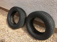 2 Bridgestone winter tyres 215/65R16