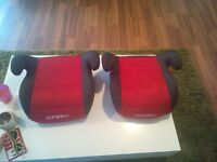 Two pamero booster seats for sale