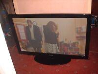 "samsung 50"" plasma tv with built in free veiw"
