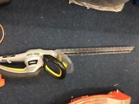 Hedge trimmer hedge cutter electric