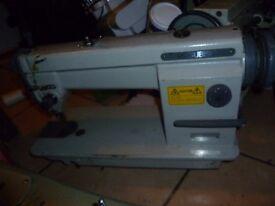Mitsubhishi Industrial FLATBED/ LOCKSTITCH sewing machine
