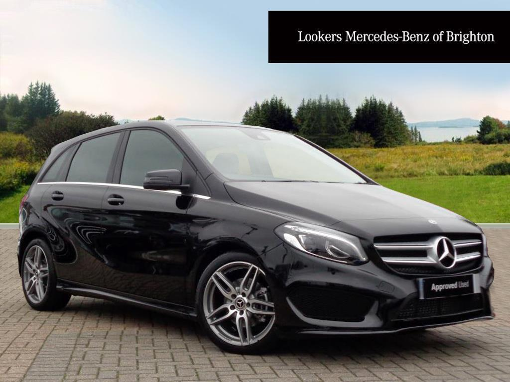 mercedes benz b class b 200 d amg line premium black 2017 09 29 in portslade east sussex. Black Bedroom Furniture Sets. Home Design Ideas