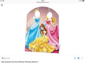 Disney Princess cut out