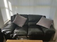 3 and 2 seater leather sofa £495 ONO comes with a care kit and needs sold this weekend