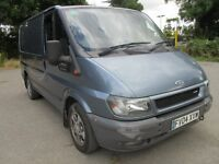 2004 04 FORD TRANSIT 2.0 TDCI 260 SWB TOW BAR FULL MOT HISTORY SIDE DOOR UNFINISHED CAMPER PX SWAPS
