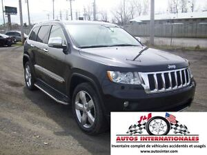 2011 Jeep Grand Cherokee LIMITED 4X4 V6 3.6L MAG MPIEDS RACK TOI
