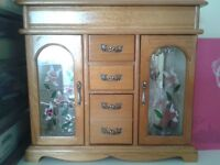 Double Jewellery wardrobe container