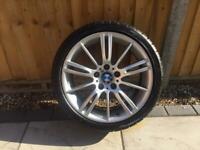 """BMW M Sport MV3 18"""" Rear Alloy Wheel & Tyre"""
