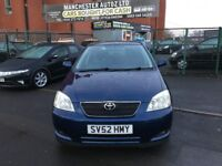 Toyota Corolla 1.6 VVT-i T Spirit 5dr,AUTOMATIC, WARRANTED MILEAGE,2 KEYS,