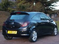 VAUXHALL CORSA 2008 SXI 1.2 LOW MILEAGE 56,000 ONLY EXCELLENT CONDITION 12 MONTH M.O.T PETROL