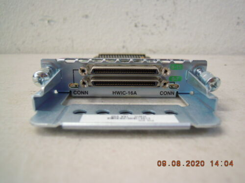 Cisco HWIC-16A 16-Port Asynchronous High Speed WAN Module * Tested * In Stock