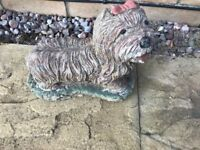 Dog garden ornament