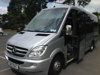 16 Seater-27 Seater Minibus/Mini Coach Hire in Woodley,Wokingham & Reading-ABC Mini Coaches 9888898