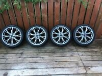 Ford Fiesta 1.0 Ecoboost Alloys 4x98 2 New Tyres 17x7 ET47