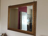 Mirror with cold frame 94 x120 cm