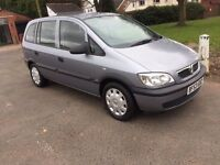 Vauxhall Zafira excellent condition