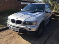 2003 bmw x5 3.0 auto 2 owners 82k full bmw hist unbelieveable spec x5 sport one off cond new tyres