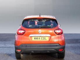 Renault Captur DYNAMIQUE MEDIANAV ENERGY TCE S/S (orange) 2014-04-30