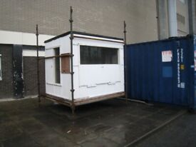 Sectional sheds