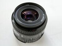 NIKKOR 35mm f.2 wide angle lens ( digital or film - full frame )