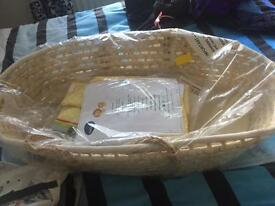 New Moses basket