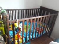 cot for sale very good condition,used for grandkids.