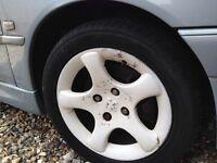 Peugeot alloy wheel