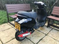 Piaggio zip 50cc piaggio 50 in working condition 50cc moped not nrg, gilera or typhoon