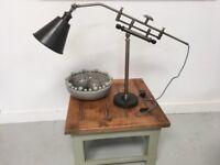 Vintage Metal Table Desk Lamp Industrial Loft Living Chic Light