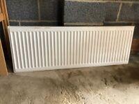Three used radiators - various sizes