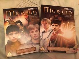 Merlin series one box set good condition