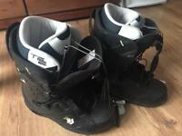 Northwave TE2 snowboarding boots size uk 9