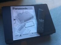Panasonic NV-HD620 VHS VCR Video Recorder with Remote Control