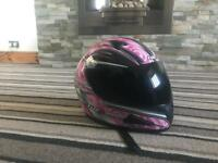 Tuzo ladies motorbike hemet ( new condition ) medium