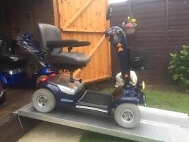 BIG TOY !!! ALL TERRAIN STERLING SAPPHIRE HEAVY DUTY MOBILITY SCOOTER - A LOVELY MACHINE JUST £450