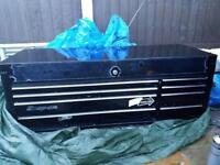 Snap on tool box top box