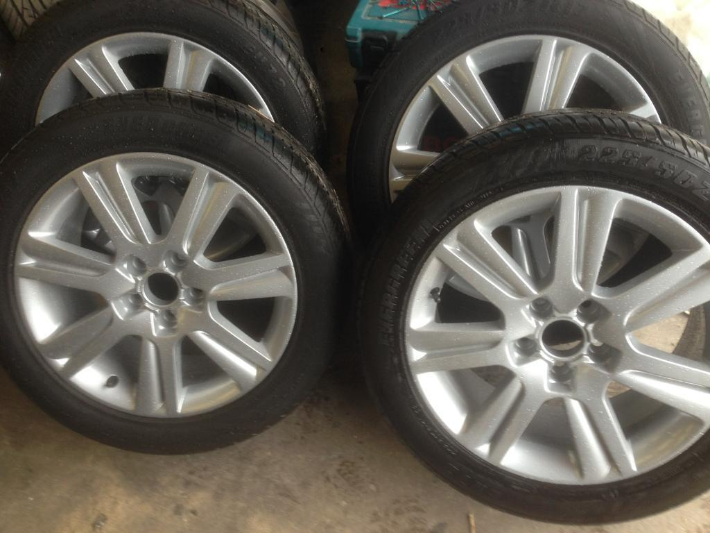"""Genuine Audi A1 , A3 , A4 , A5 , A6 etc 17"""" 5x112 alloy wheels and tyres . Brand new ."""