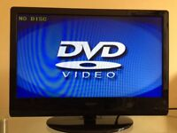 Neon 22 inch HD LCD TV with built in DVD, Freeview, excellent condition