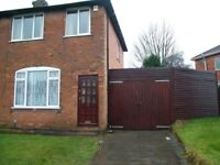 Unfurnished 3 bedroom house available in Shirley Solihull